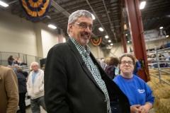 January 9, 2019: Senator Tim Kearney attends the 2019 Pennsylvania Farm Show in Harrisburg, PA.