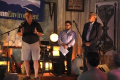 """May 30, 2019: Senator Kearney teams with PennEnvironment to host a """"Climate on Tap"""" event  WaR3house 3 in Swarthmore to fight climate change."""