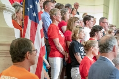 August 7, 2019: Senator Tim Kearney joins Gov. Wolf and U.S. Senator Bob Casey for a bipartisan event in remembrance of the victims of all gun violence and as a call-for-action after a weekend of mass shootings and a continued deaf-ear response from federal and state lawmakers to take up stricter gun laws.