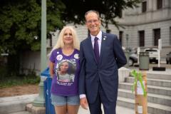 August 31, 2021: Senator Kearney participates in International Overdose Awareness Day in Harrisburg.