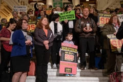 March 19, 2019: Senator Kearney participates in the Citizens' Rally for Safety over Sunoco held in the Capitol Rotunda.