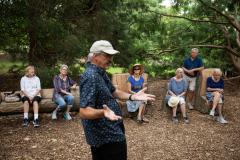 August 18, 2021: Senator Kearney is guest at Swarthmore Seniors 'Walk & Talk'