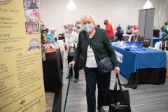 September 30, 2021: Senator Kearney and  Rep. Mike Zabel host Senior Expo.  Flu shots, information for services, and refreshments were available.