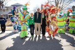 March 16, 2019: Senator Kearney celebrates St. Patrick's Day in Springfield, Pennsylvania.