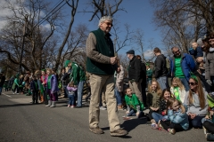March 16, 2019: Senator Kearney celebrates St. Patrick's Day in Springfield, Pennsylvania.