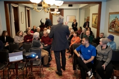 February 12, 2020: Sen. Tim Kearney  hosts a town hall.