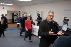 November 16, 2019:  Senator Tim Kearney honors veterans and their service to our country at a Veteran's Expo featuring vendors and experts in a wide variety of veteran's services.