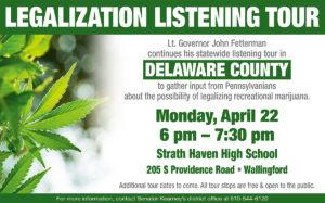 Legalization Listening Tour - April 22, 2019