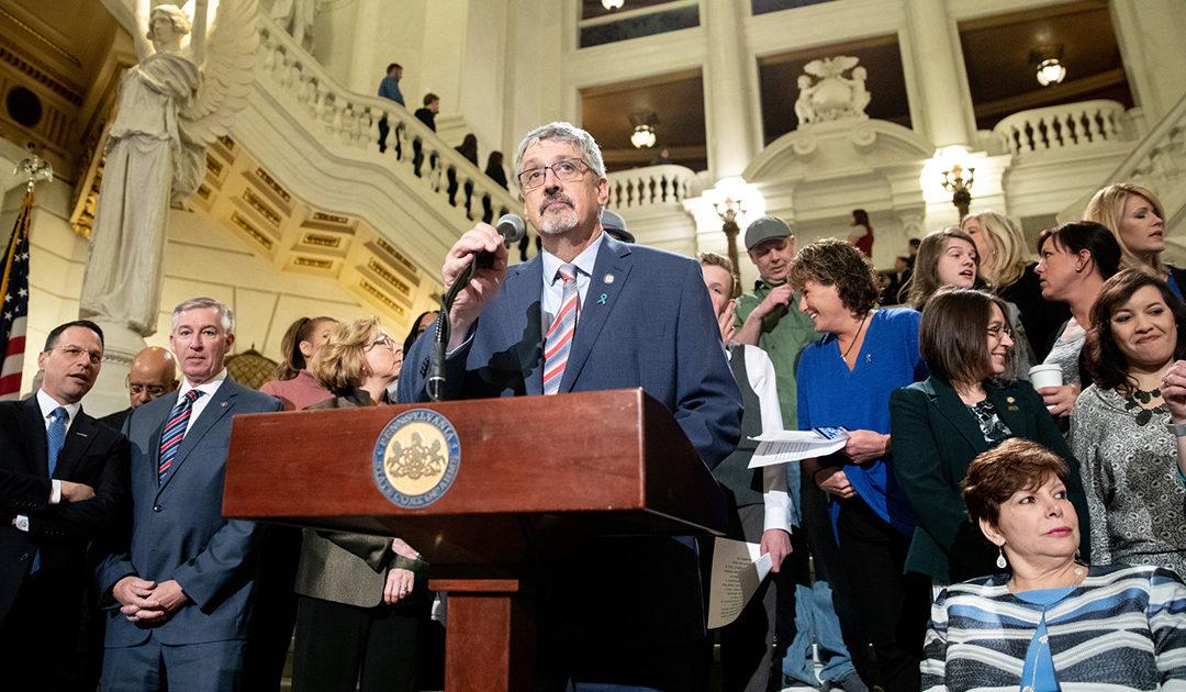 Senator Kearney, Four Fellow Freshmen Senators, Introduce Bill to Eliminate Statute of Limitations for Sexual Offenses
