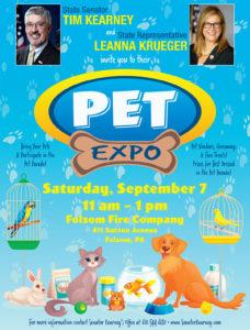 Pet Expo - Saturday, September 7th