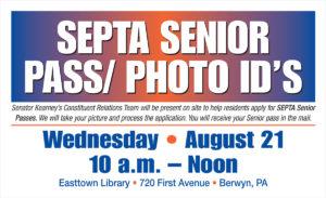 SEPTA Senior Pass/Photo Id's - August 21, 2019