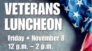 Veterans Luncheon - November 8, 2019