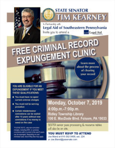 Expungement Clinic - October 7, 2019