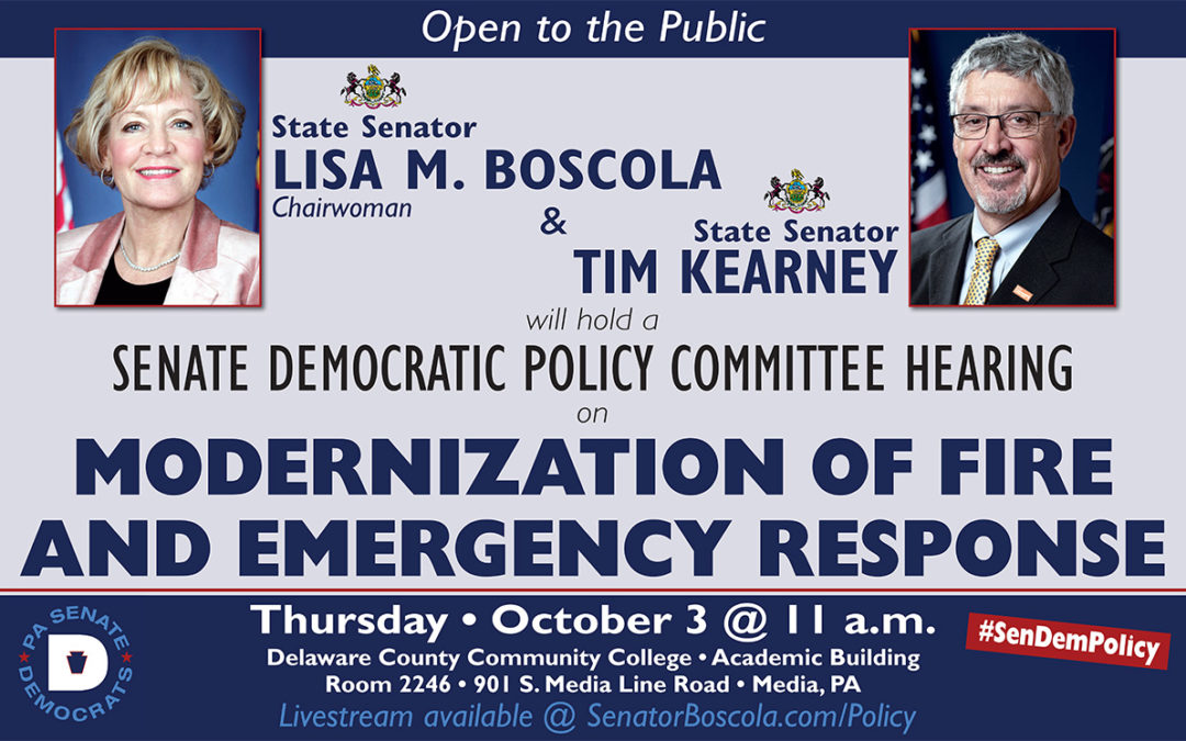 Policy Hearing - October 3, 2019