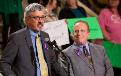 Dinniman, Kearney Discuss Support for Brain Injury Community