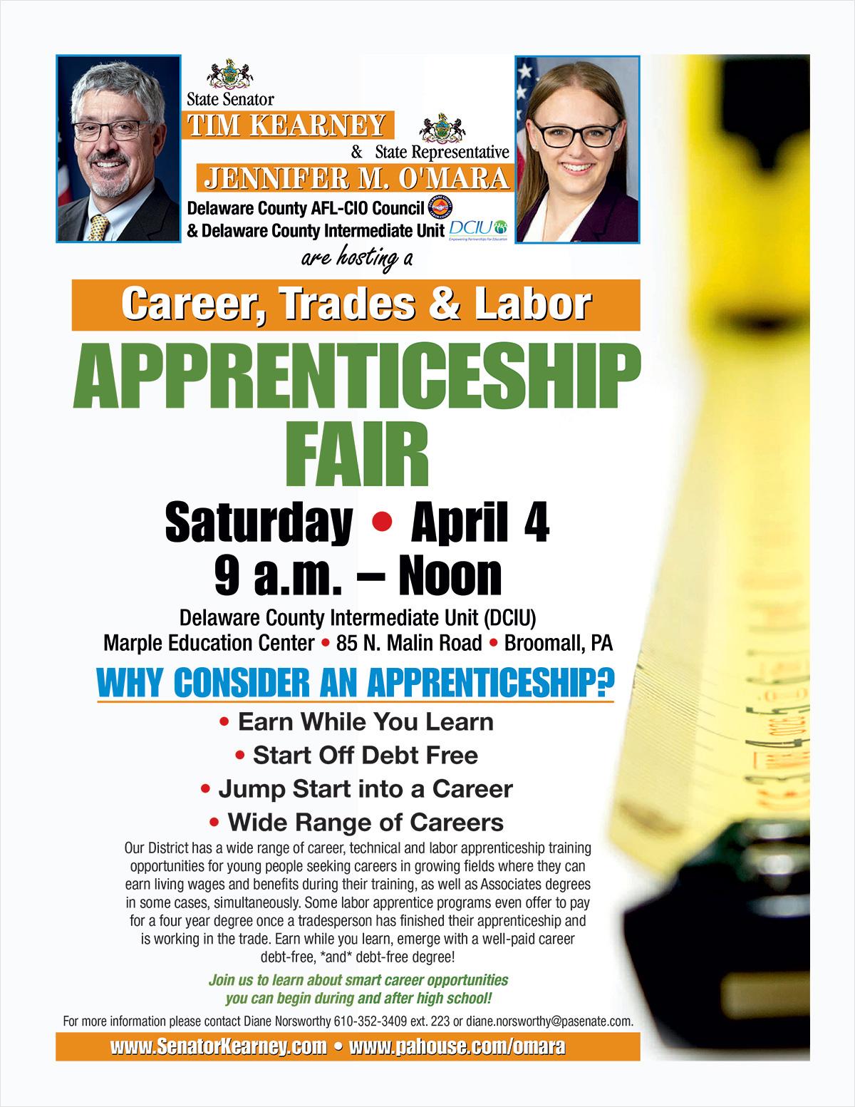 Apprenticeship Fair - April 2020
