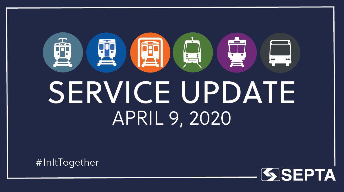 SEPTA Service Update