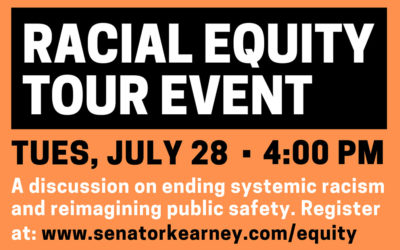 Kearney, Williams to Host Racial Equity Tour Event