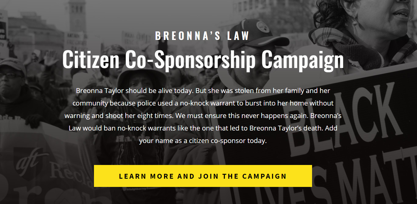 Breonna's Law