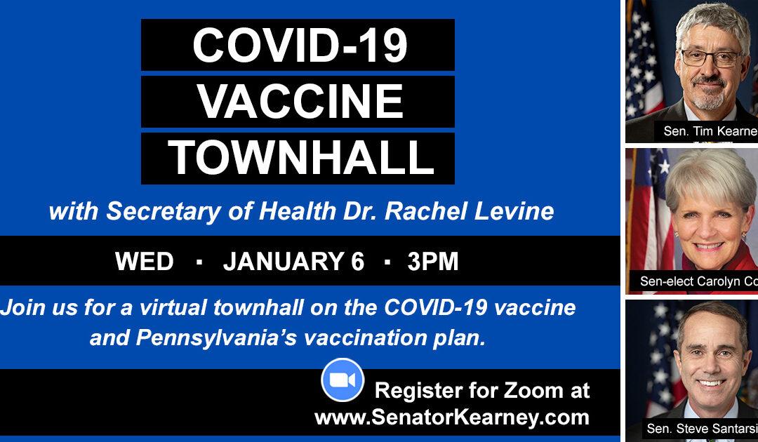 Virtual Townhall on COVID-19 Vaccine