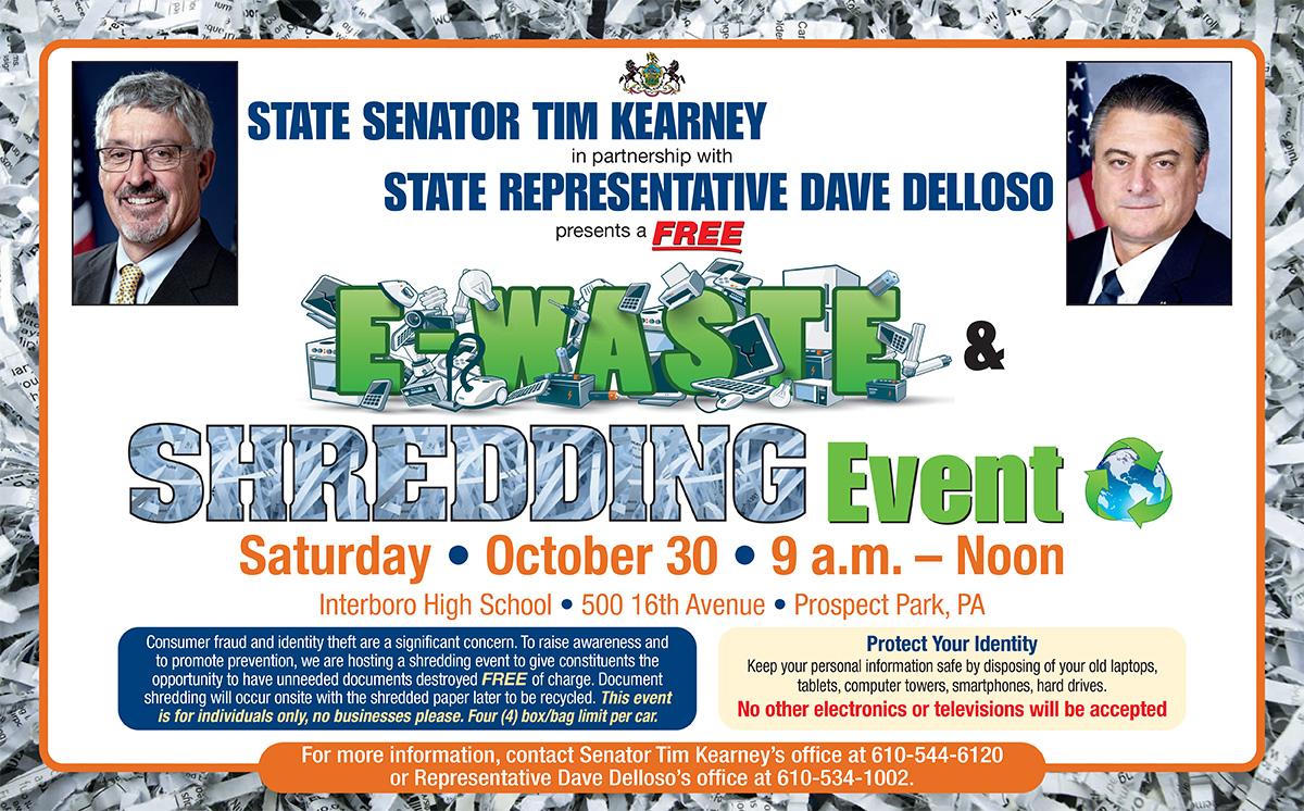 Shredding Event - October 30, 2021