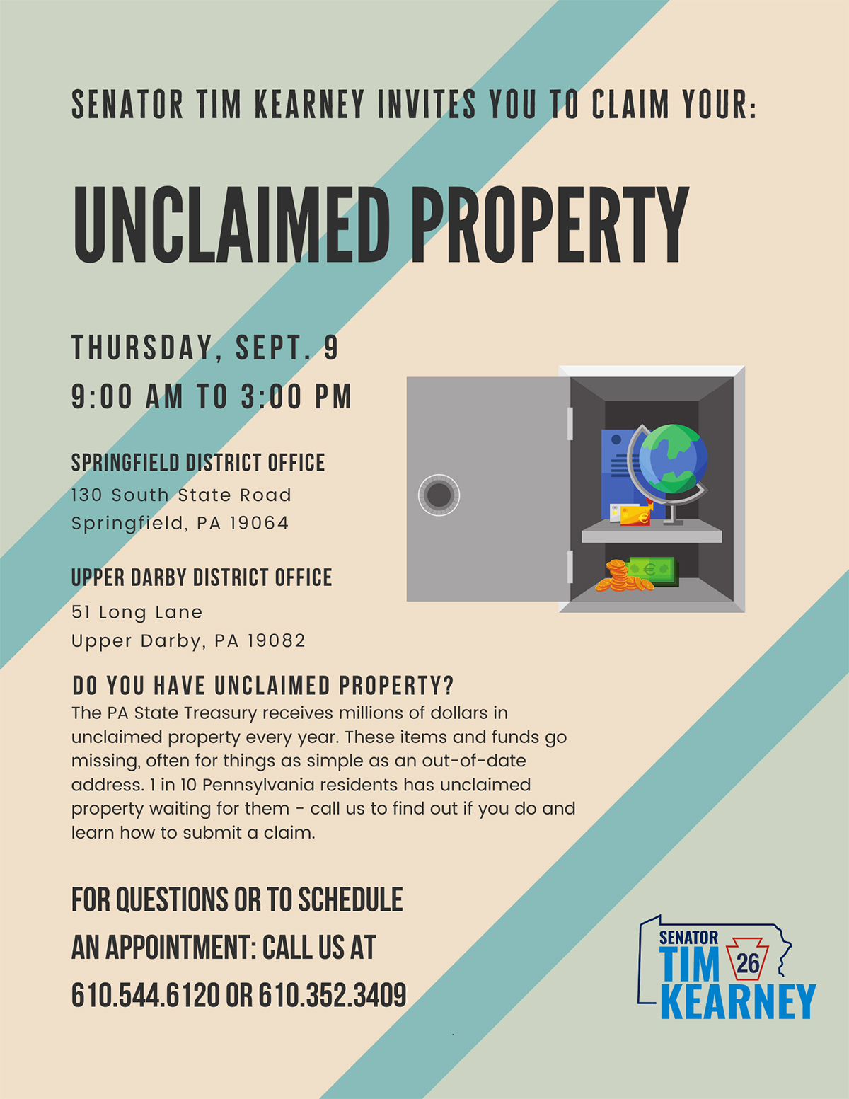 Unclaimed Property Event